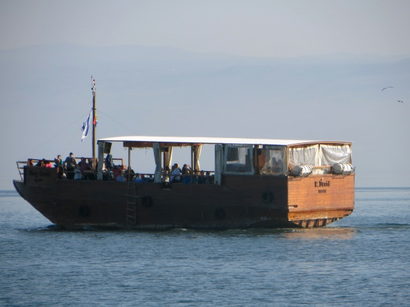 Typical tourist boat
